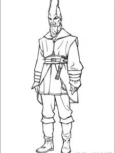 angry star wars coloring pages