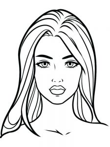 animal face coloring pages