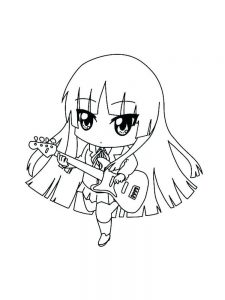anime coloring pages com