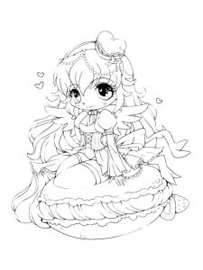 anime coloring pages online free