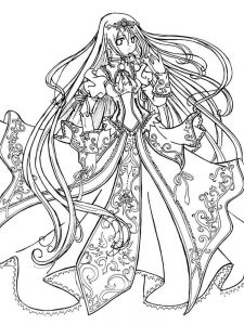 anime coloring pages pdf
