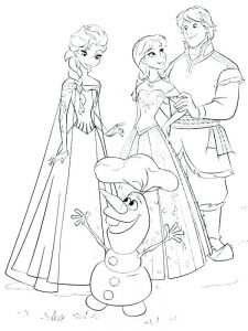 anna frozen coloring pages free