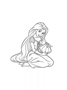 ariel in a dress coloring pages