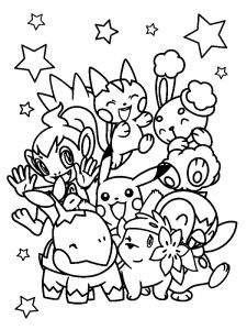 aron pokemon coloring page