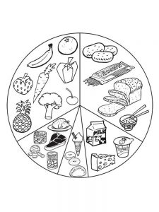 asian food coloring pages