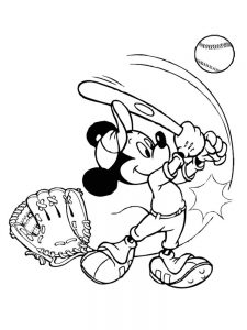 atlanta braves baseball coloring pages