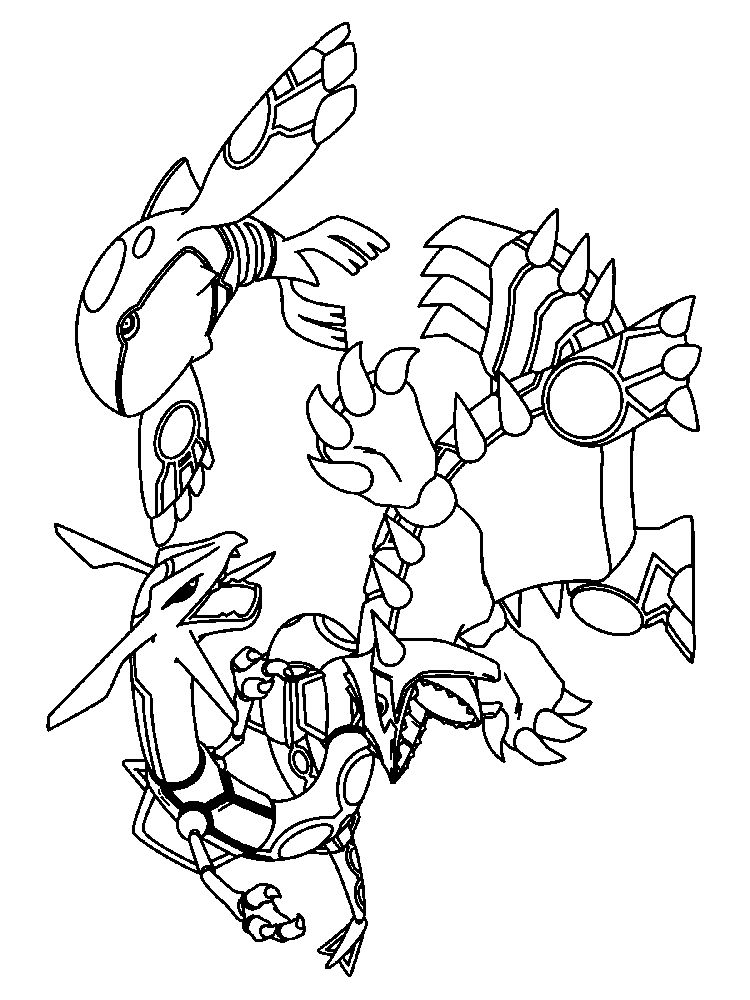 aurorus pokemon coloring page