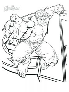 avengers birthday coloring pages