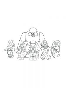 avengers cartoon coloring pages