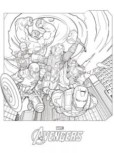 avengers coloring pages lego