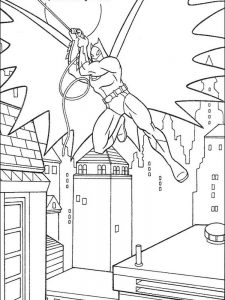 baby batman coloring pages