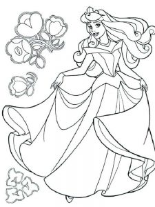 baby belle coloring page free