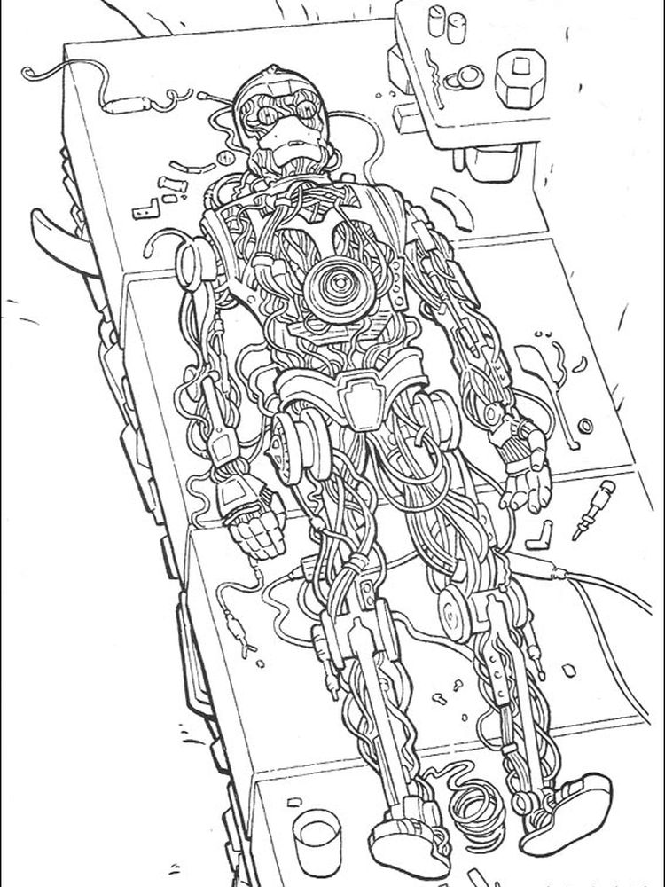baby star wars coloring pages