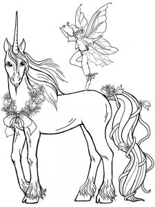 baby unicorn coloring pages printable