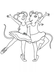 ballerina coloring pages for toddlers