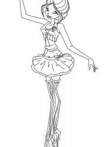 ballerina coloring pages free printable