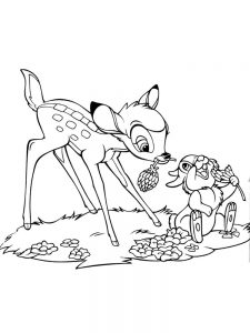 bambi coloring pages 023