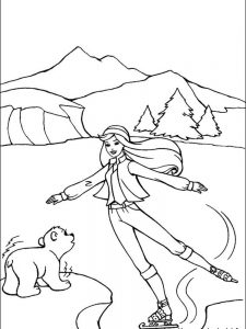 barbie accessories coloring pages