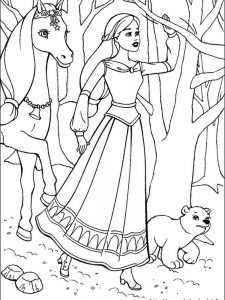 barbie and sisters coloring pages