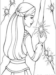 barbie ballerina princess coloring pages