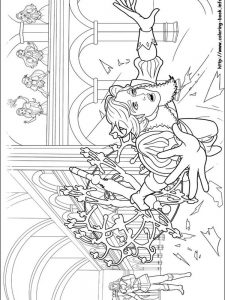 barbie ballet coloring pages
