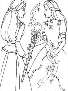barbie coloring book pages pdf