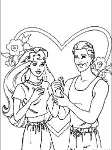 barbie coloring pages games play