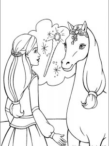 barbie dreamhouse adventures coloring pages