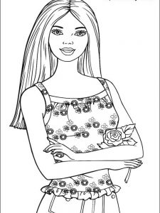 barbie great puppy adventure coloring pages