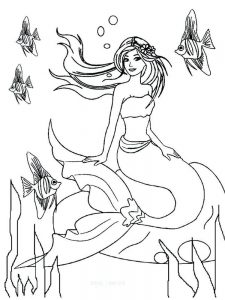 barbie in a mermaid tale 2 coloring pages