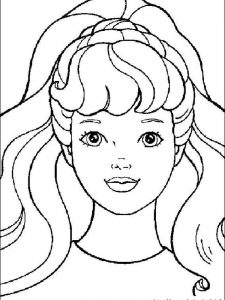 barbie island princess coloring pages