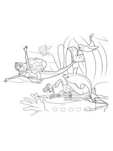 barbie mermaid tale colouring pages