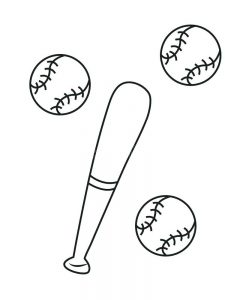 baseball cap coloring pages