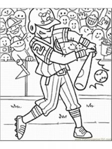 baseball helmets coloring pages