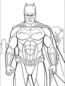 batman and joker printable coloring pages