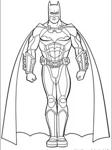 batman and spiderman coloring pages