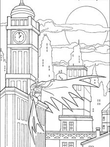 batman birthday coloring pages