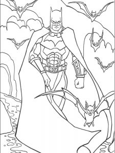batman coloring pages for childrens