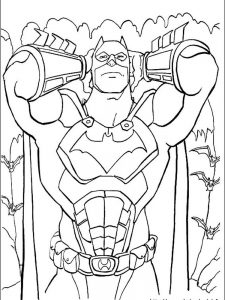 batman coloring pages for preschoolers