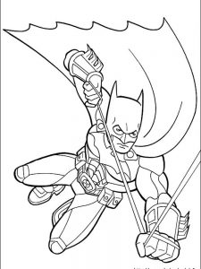 batman coloring pages free
