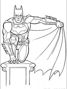 batman coloring pages logo