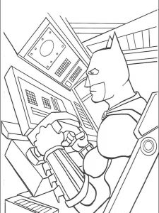 batman coloring pages pinterest