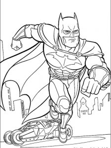 batman coloring pages to print free