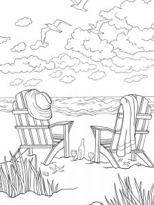 beach ball coloring page for toddlers