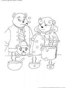 bernard bear coloring pages