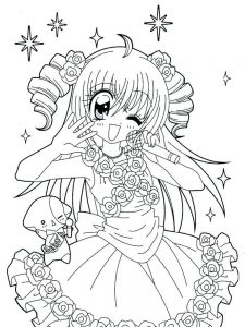 best anime coloring pages