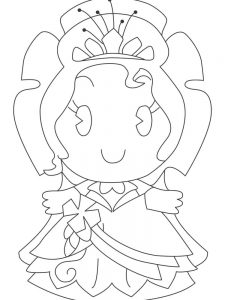 best disney princess cuties coloring pages