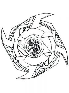 beyblade burst coloring pages 003