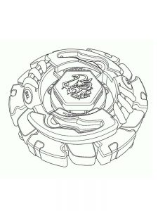beyblade burst coloring pages