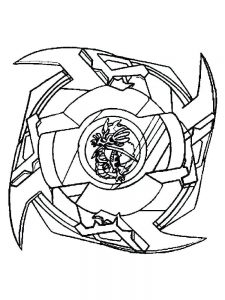 beyblade burst evolution colouring pages